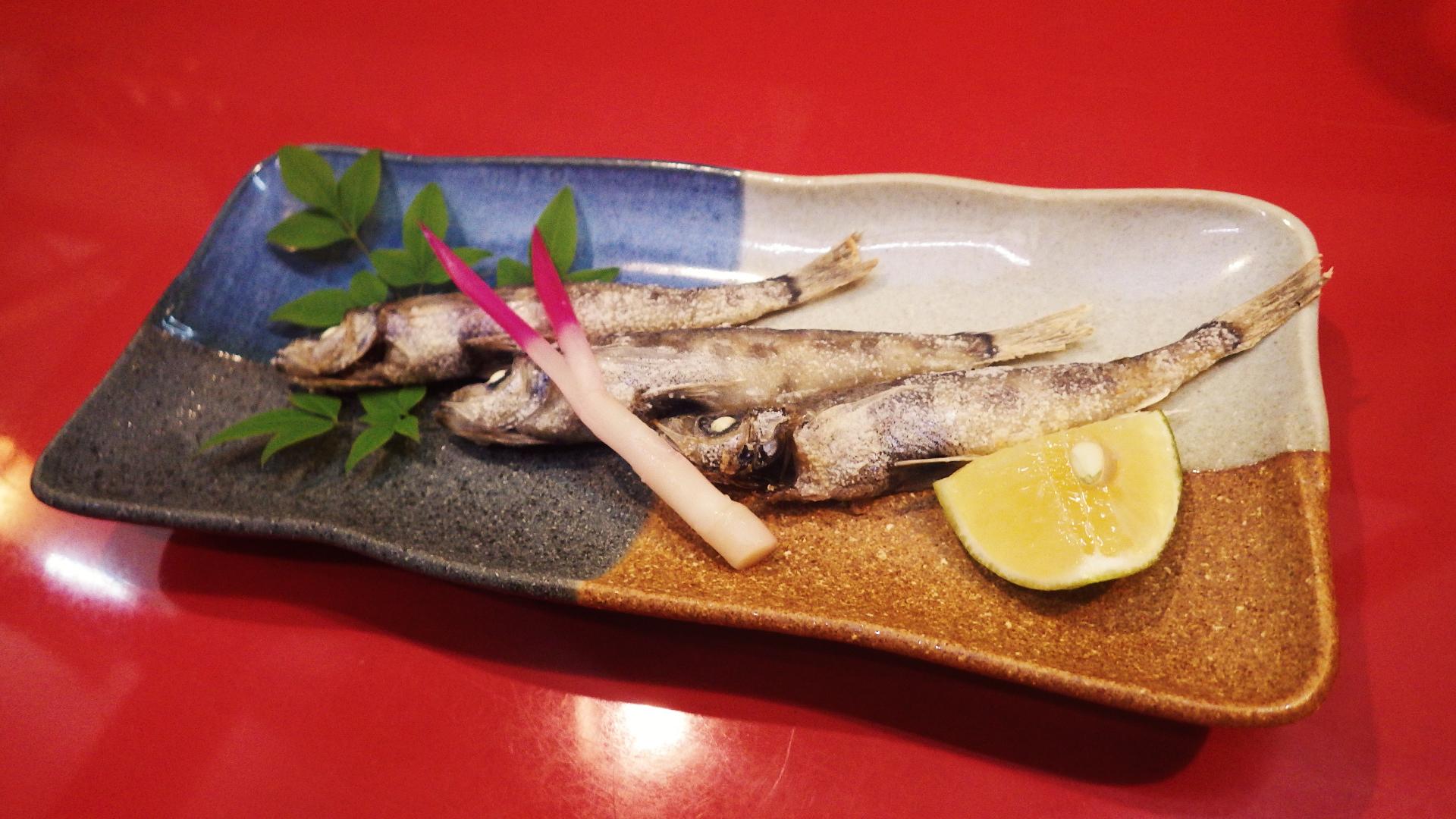メヒカリの唐揚げ600円