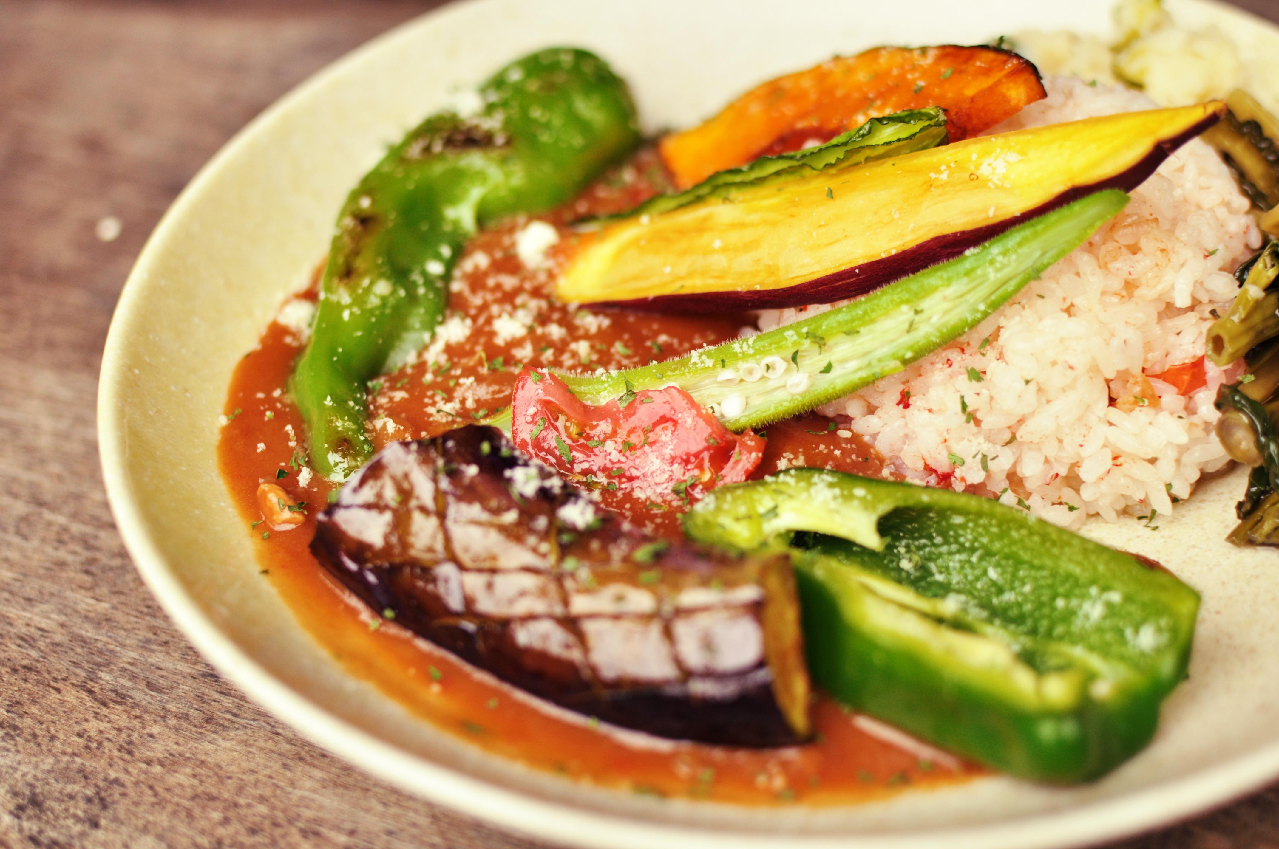 野菜たっぷりハヤシライス